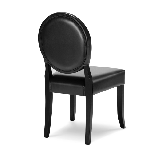 iKayaa Classic Antique Style Tufted Kitchen Dining Chair PU Leather Accent Chair Side Living Room Chair W/ Rubber Wood LegHome &amp; Garden<br>iKayaa Classic Antique Style Tufted Kitchen Dining Chair PU Leather Accent Chair Side Living Room Chair W/ Rubber Wood Leg<br>