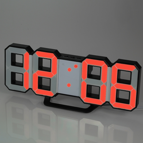 Multifunctional Large LED Digital Wall Clock 12H/24H Time Display With Alarm and Snooze Function Adjustable LuminanceHome &amp; Garden<br>Multifunctional Large LED Digital Wall Clock 12H/24H Time Display With Alarm and Snooze Function Adjustable Luminance<br>