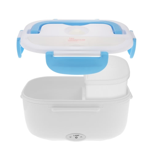Stylish Electric Lunch Box Portable Electric Heating Food Container with Spoon Food Warmer Electric Lunch Box HeatingHome &amp; Garden<br>Stylish Electric Lunch Box Portable Electric Heating Food Container with Spoon Food Warmer Electric Lunch Box Heating<br>