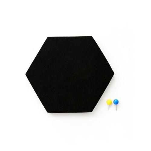 Multi-functional Innovative Hexagon Felt Wall Sticker