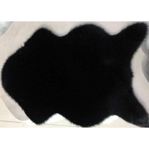 Tapetes de lã de imitação brilhante lavável super macio