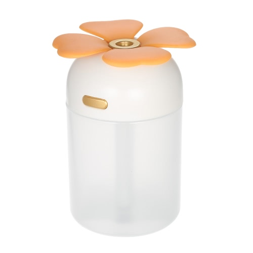 220ml Multifunctional Portable USB Humidifier Handy Mini Aroma Diffuser Four Leaf Clover USB Humidifier with Colorful Night LightHome &amp; Garden<br>220ml Multifunctional Portable USB Humidifier Handy Mini Aroma Diffuser Four Leaf Clover USB Humidifier with Colorful Night Light<br>