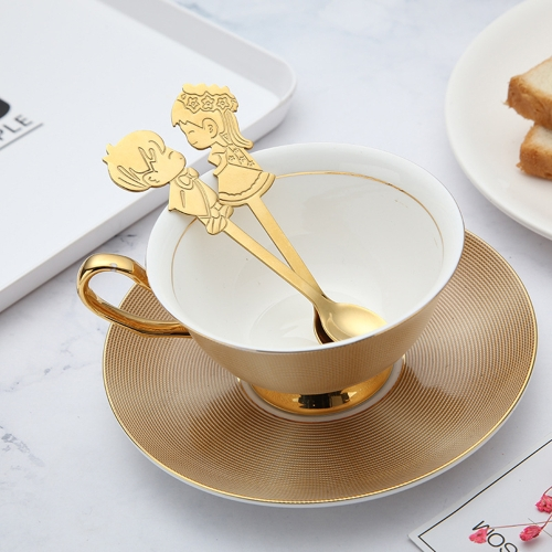 2PCS Wedding Coffee Tea Measuring Spoon Gift Stainless Steel Flatware Lover Dinner Tableware Kids Rainbow Gold Cake Dessert Ice CrHome &amp; Garden<br>2PCS Wedding Coffee Tea Measuring Spoon Gift Stainless Steel Flatware Lover Dinner Tableware Kids Rainbow Gold Cake Dessert Ice Cr<br>