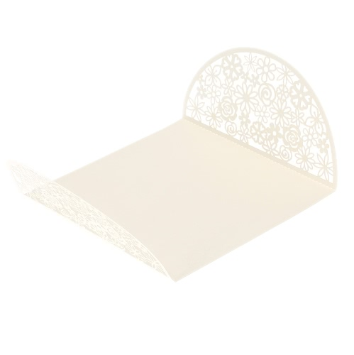 10Pcs Romantic White Wedding Party Invitation Card Envelope Delicate Carved FlowersHome &amp; Garden<br>10Pcs Romantic White Wedding Party Invitation Card Envelope Delicate Carved Flowers<br>