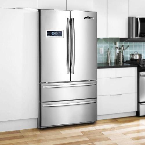 Thor кухня Hrf3601f 36 20 Cu Ft большая емкость высокого класса из нержавеющей стали профессиональный французский двери холодильник эфирные