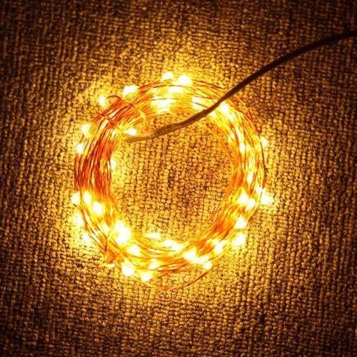 10m 100-LED String Light Lamp Decoration Lighting Copper for Christmas Party Wedding 12V Warm WhiteHome &amp; Garden<br>10m 100-LED String Light Lamp Decoration Lighting Copper for Christmas Party Wedding 12V Warm White<br>
