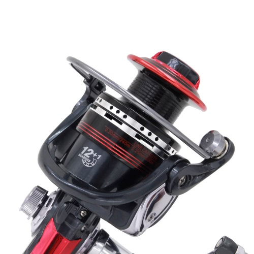 12+1BB Ball Bearings Left/Right Interchangeable Collapsible Handle Fishing Spinning Reel LK5000 5.5:1Sports &amp; Outdoor<br>12+1BB Ball Bearings Left/Right Interchangeable Collapsible Handle Fishing Spinning Reel LK5000 5.5:1<br>