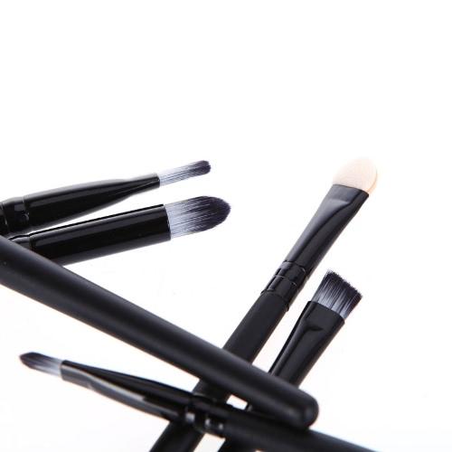 6 個入化粧ブラシ化粧品セットのアイシャドウ アイライナー鼻指先ツール キット