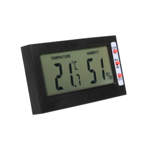 Digital LCD C/F Thermometer Hygrometer Max Min Memory Celsius FahrenheitTest Equipment &amp; Tools<br>Digital LCD C/F Thermometer Hygrometer Max Min Memory Celsius Fahrenheit<br>
