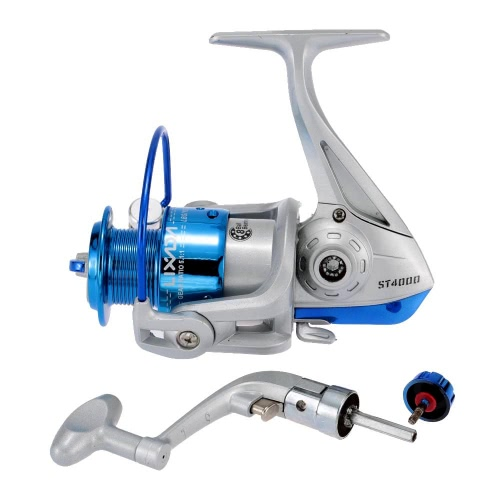 Lixada 8BB Ball Bearings Left/Right Interchangeable Collapsible Handle Fishing Spinning Reel ST4000 5.1:1Sports &amp; Outdoor<br>Lixada 8BB Ball Bearings Left/Right Interchangeable Collapsible Handle Fishing Spinning Reel ST4000 5.1:1<br>