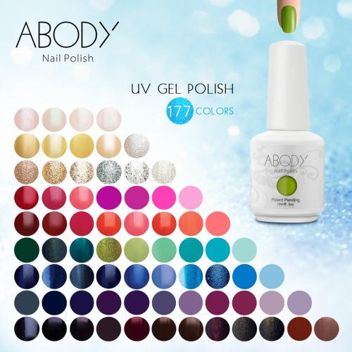 Abody 15ml Soak Off Nail Gel Polish Nail Art Professional Shellac Lacquer Manicure UV Lamp &amp; LED 177 Colors 1531Health &amp; Beauty<br>Abody 15ml Soak Off Nail Gel Polish Nail Art Professional Shellac Lacquer Manicure UV Lamp &amp; LED 177 Colors 1531<br>