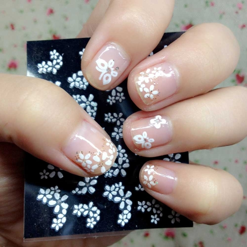 50 Sheet 3D Mix Color Floral Design Nail Art Stickers Decals Manicure Beautiful Fashion Accessories DecorationHealth &amp; Beauty<br>50 Sheet 3D Mix Color Floral Design Nail Art Stickers Decals Manicure Beautiful Fashion Accessories Decoration<br>