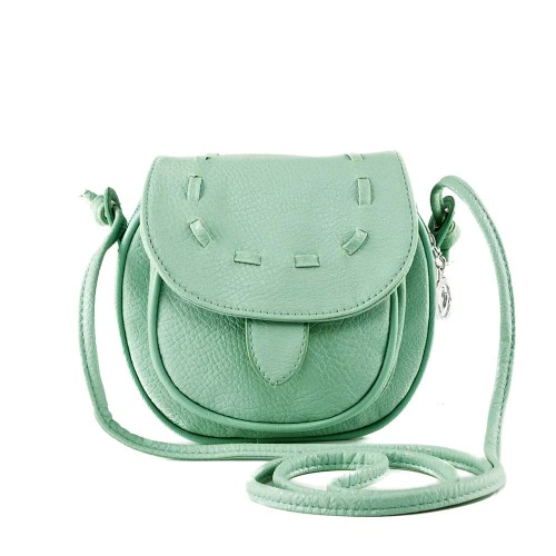 New Fashion Women Mini Shoulder Bag PU Leather Messenger Crossbody Bag Drawstring Handbag GreenApparel &amp; Jewelry<br>New Fashion Women Mini Shoulder Bag PU Leather Messenger Crossbody Bag Drawstring Handbag Green<br>