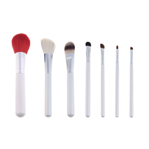 7pcs Professional Makeup Brush Set Cosmetic Brush Kit Makeup Tool with Flower Pattern Cup Holder Case RedHealth &amp; Beauty<br>7pcs Professional Makeup Brush Set Cosmetic Brush Kit Makeup Tool with Flower Pattern Cup Holder Case Red<br>