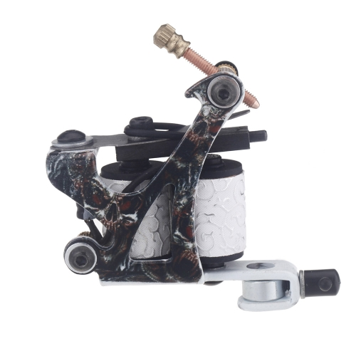 New Pro Tattoo Machine Gun Shader Liner 10 Wrap Coils Free Spring MulticolourHealth &amp; Beauty<br>New Pro Tattoo Machine Gun Shader Liner 10 Wrap Coils Free Spring Multicolour<br>