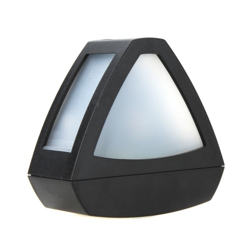 Outdoor Solar Powered LED Path Wall Landscape Garden Fence Park Light Lamp TrangleHome &amp; Garden<br>Outdoor Solar Powered LED Path Wall Landscape Garden Fence Park Light Lamp Trangle<br>