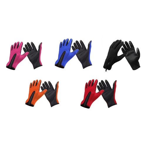 Outdoor Windproof Winter Thermal Warm Touch Screen Silicone GlovesSports &amp; Outdoor<br>Outdoor Windproof Winter Thermal Warm Touch Screen Silicone Gloves<br>