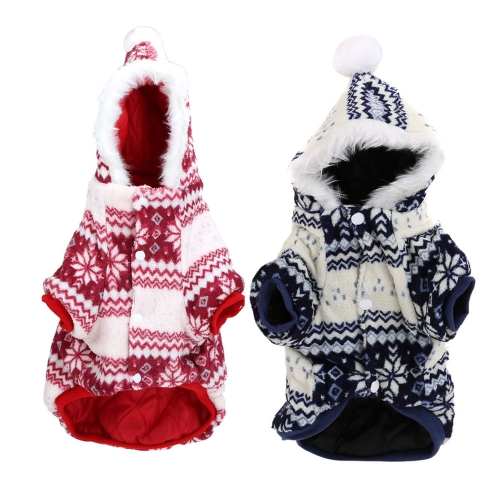 Soft Warm Dog Pet Clothes Apparel Hoodie Hooded Coat for WinterHome &amp; Garden<br>Soft Warm Dog Pet Clothes Apparel Hoodie Hooded Coat for Winter<br>