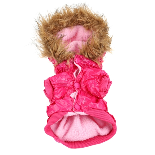 Waterproof Warm Pet Dog Clothes Apparel Hoodie Hooded Cotton Coat for WinterHome &amp; Garden<br>Waterproof Warm Pet Dog Clothes Apparel Hoodie Hooded Cotton Coat for Winter<br>