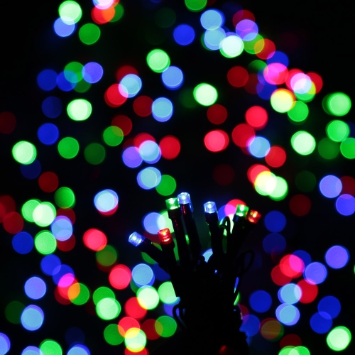 RGB 200 LED Christmas String Light Outdoor Decoration Fairy Xmas Tree Wedding Holiday Party Garden Colorful USB DC 5VHome &amp; Garden<br>RGB 200 LED Christmas String Light Outdoor Decoration Fairy Xmas Tree Wedding Holiday Party Garden Colorful USB DC 5V<br>