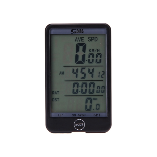 Wireless Bike Bicycle Cycling Computer Odometer Speedometer Touch Button LCD Backlight Backlit Water-resistant MultifunctionSports &amp; Outdoor<br>Wireless Bike Bicycle Cycling Computer Odometer Speedometer Touch Button LCD Backlight Backlit Water-resistant Multifunction<br>