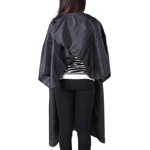Black Salon Hairdressing Waterproof Haircutting Gown Hairdresser Hair Cutting Barber Hair Tool Cape Cloth Apron ShadeHealth &amp; Beauty<br>Black Salon Hairdressing Waterproof Haircutting Gown Hairdresser Hair Cutting Barber Hair Tool Cape Cloth Apron Shade<br>