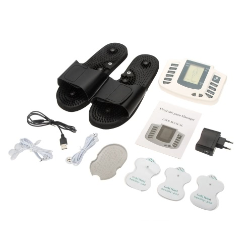 100-240V Multi-function-Electronic-Pulse-Massager-Therapy-With-Therapy-Slipper-Pads  EUHealth &amp; Beauty<br>100-240V Multi-function-Electronic-Pulse-Massager-Therapy-With-Therapy-Slipper-Pads  EU<br>