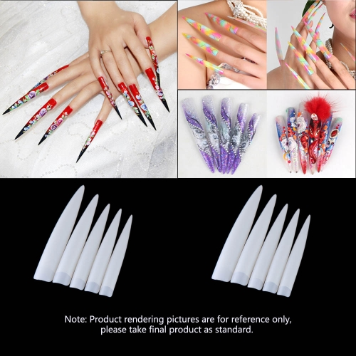 10Pcs Long Sharp False Nail Professional Salon False Acrylic Nail Art TipsHealth &amp; Beauty<br>10Pcs Long Sharp False Nail Professional Salon False Acrylic Nail Art Tips<br>