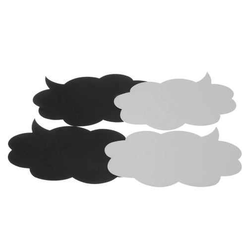10Pcs Black DIY Props for Couples Friends Family Photos Decoration Speech Bubble Shaped BoardHome &amp; Garden<br>10Pcs Black DIY Props for Couples Friends Family Photos Decoration Speech Bubble Shaped Board<br>