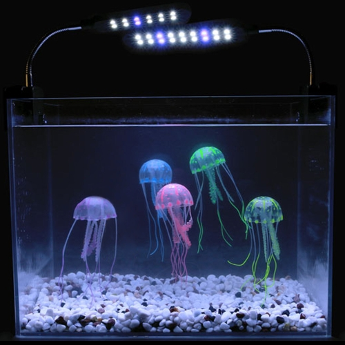 10cm Artificial Glowing Jellyfish with Sucker Fish Tank Aquarium Decoration PurpleHome &amp; Garden<br>10cm Artificial Glowing Jellyfish with Sucker Fish Tank Aquarium Decoration Purple<br>