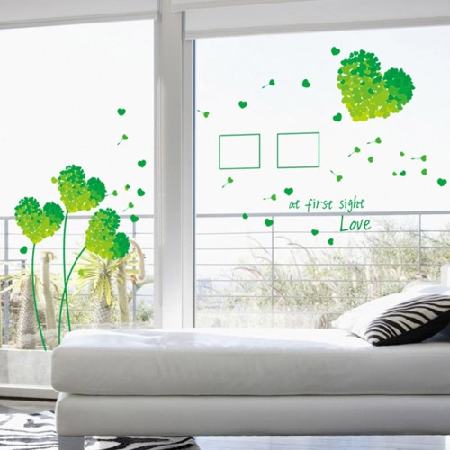 Removable Wall Decal Sticker Beautiful Love Dandelion DIY Wallpaper Art Decals Mural for Room Decoration 50 * 70cmHome &amp; Garden<br>Removable Wall Decal Sticker Beautiful Love Dandelion DIY Wallpaper Art Decals Mural for Room Decoration 50 * 70cm<br>