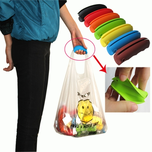 Multi-functional Silicone Shopping Bag Carrier Grocery Holder Handle for Household UseHome &amp; Garden<br>Multi-functional Silicone Shopping Bag Carrier Grocery Holder Handle for Household Use<br>
