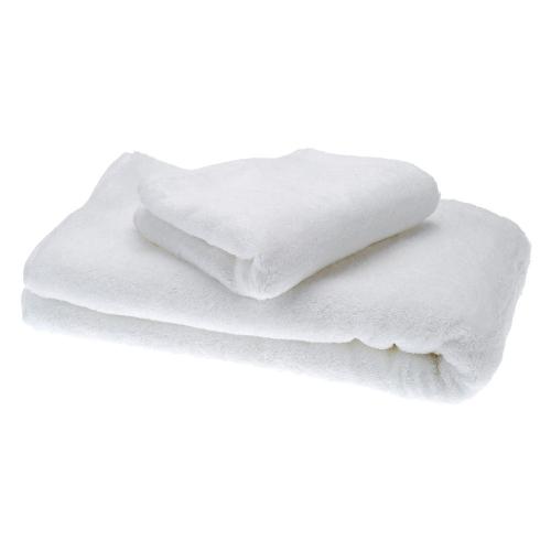 2pcs semplice puro bianco cotone asciugamani impostare asciugatura asciugamano asciugamano per Hotel Casa uso