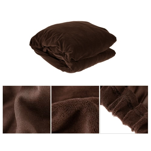 High Quality Elastic Soft Polyester Spandex Slipcover Couch Sofa Cover 2 Seater BrownHome &amp; Garden<br>High Quality Elastic Soft Polyester Spandex Slipcover Couch Sofa Cover 2 Seater Brown<br>