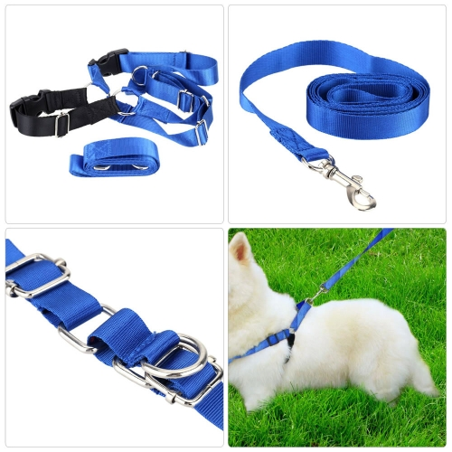 Pet Dog Nylon Adjustable Training Lead Dogs Harness Walking / Running Traction Belt Leash Strap Rope SHome &amp; Garden<br>Pet Dog Nylon Adjustable Training Lead Dogs Harness Walking / Running Traction Belt Leash Strap Rope S<br>