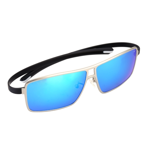Classic Huge Blue Lenses Sunglasses Polarized Glasses for MenHome &amp; Garden<br>Classic Huge Blue Lenses Sunglasses Polarized Glasses for Men<br>