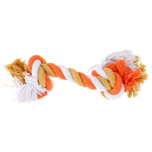 Anself Multicolor Cotton Pet Rope Bone Durable Bone Shaped Dog Chew Toy Toxic Free Puppy Entertained Rope Bone Toy Multi Knots RopHome &amp; Garden<br>Anself Multicolor Cotton Pet Rope Bone Durable Bone Shaped Dog Chew Toy Toxic Free Puppy Entertained Rope Bone Toy Multi Knots Rop<br>