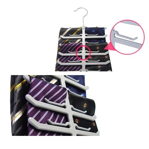 Multi-function ABS Scarves Tie Rack Creative Fishbone Shaped Organizer Hanger Holder 5PCSHome &amp; Garden<br>Multi-function ABS Scarves Tie Rack Creative Fishbone Shaped Organizer Hanger Holder 5PCS<br>