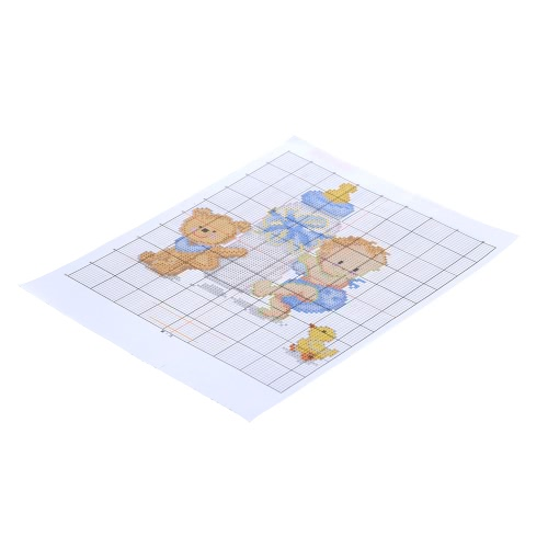 20 * 25cm DIY Handmade Counted Cross Stitch Set Embroidery Needlework Kits Babys Bottle Toy Pattern Cross Stitching Home DecoratiHome &amp; Garden<br>20 * 25cm DIY Handmade Counted Cross Stitch Set Embroidery Needlework Kits Babys Bottle Toy Pattern Cross Stitching Home Decorati<br>