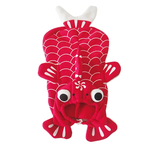 Soft Lovely Pet Dog Puppy Clothes Coat Lovely Red Goldfish Costume for Spring Autumn MHome &amp; Garden<br>Soft Lovely Pet Dog Puppy Clothes Coat Lovely Red Goldfish Costume for Spring Autumn M<br>