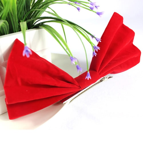 Cute Sweet Lovely Christmas Bowknot Hair Clip Hairpin for Decoration Decor SuppliesHome &amp; Garden<br>Cute Sweet Lovely Christmas Bowknot Hair Clip Hairpin for Decoration Decor Supplies<br>