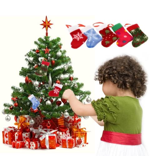 5PCS Lovely Christmas Tree Decoration Xmas Hanging Stockings Ornaments to put Presents &amp; Candies Christmas SupplyHome &amp; Garden<br>5PCS Lovely Christmas Tree Decoration Xmas Hanging Stockings Ornaments to put Presents &amp; Candies Christmas Supply<br>