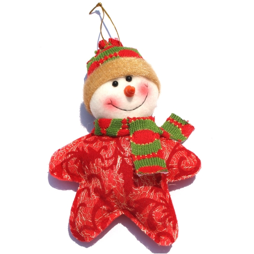 Cute Star-shaped Santa Claus Reindeer Snowman Christmas Decoration Great Christmas Tree Hanging OrnamentHome &amp; Garden<br>Cute Star-shaped Santa Claus Reindeer Snowman Christmas Decoration Great Christmas Tree Hanging Ornament<br>