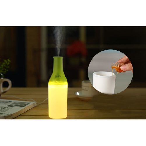 USB Portable Mini Cool Cocktail Bottle Humidifier DC 5V Office Air Diffuser Mist Maker with LED NightlightHome &amp; Garden<br>USB Portable Mini Cool Cocktail Bottle Humidifier DC 5V Office Air Diffuser Mist Maker with LED Nightlight<br>