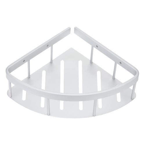 Handy Multifunctional Space-saving Wall-mounted Triangle Rack Shelf High Quality Aluminum Bathroom Corner Storage Shelf Awesome BaHome &amp; Garden<br>Handy Multifunctional Space-saving Wall-mounted Triangle Rack Shelf High Quality Aluminum Bathroom Corner Storage Shelf Awesome Ba<br>