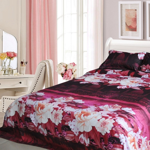 Moonlight Lake Castle Peony Pattern 4Pcs 3D Printed Bedding Set Bedclothes Home Textiles King Queen Size Quilt Cover Bed Sheet 2 PHome &amp; Garden<br>Moonlight Lake Castle Peony Pattern 4Pcs 3D Printed Bedding Set Bedclothes Home Textiles King Queen Size Quilt Cover Bed Sheet 2 P<br>
