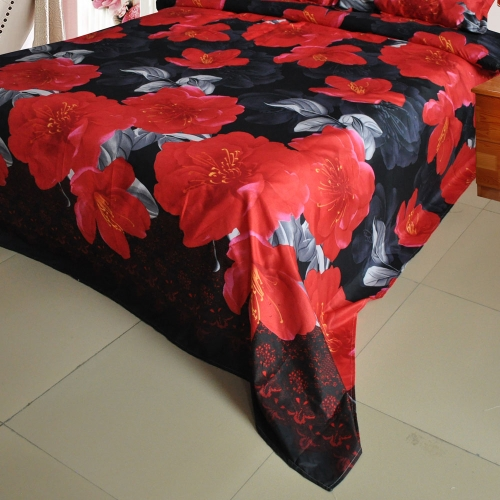Red Peony Flower Pattern 4Pcs 3D Printed Bedding Set Bedclothes Home Textiles King Queen Size Quilt Cover Bed Sheet 2 PillowcasesHome &amp; Garden<br>Red Peony Flower Pattern 4Pcs 3D Printed Bedding Set Bedclothes Home Textiles King Queen Size Quilt Cover Bed Sheet 2 Pillowcases<br>