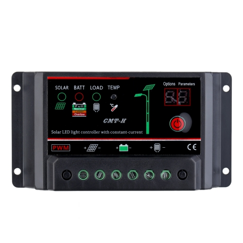 10A 12V/24V Solar Charge Controller with Constant Current Auto Regulator Solar Panel Lamp Battery LED Street Light Overload ProtecHome &amp; Garden<br>10A 12V/24V Solar Charge Controller with Constant Current Auto Regulator Solar Panel Lamp Battery LED Street Light Overload Protec<br>