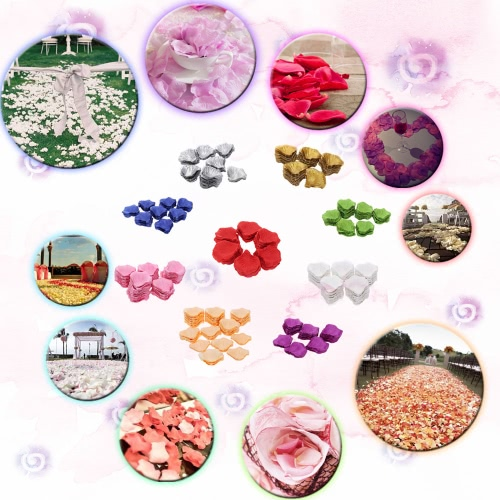 1000 PCS Beautiful Perfect Wedding Simulation Flower Petals Romantic Vivid Artificial Rose Flower for Wedding Party DecorationHome &amp; Garden<br>1000 PCS Beautiful Perfect Wedding Simulation Flower Petals Romantic Vivid Artificial Rose Flower for Wedding Party Decoration<br>