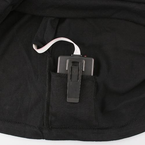 Sound Activated Apple Shape LED Light EL Equalizer T-Shirt-XL-BlackApparel &amp; Jewelry<br>Sound Activated Apple Shape LED Light EL Equalizer T-Shirt-XL-Black<br>
